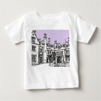 月桂樹のホールの薄紫の開催地 ベビーTシャツ