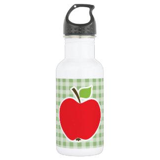 月桂樹の緑のギンガム; Apple ウォーターボトル