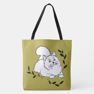月桂樹猫のトートバック トートバッグ