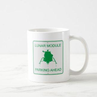 月着陸船の駐車 コーヒーマグカップ