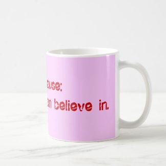月経閉止期: あなたが信じることができる変更 コーヒーマグカップ