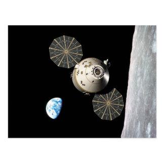 月軌道のNASAオリオン ポストカード