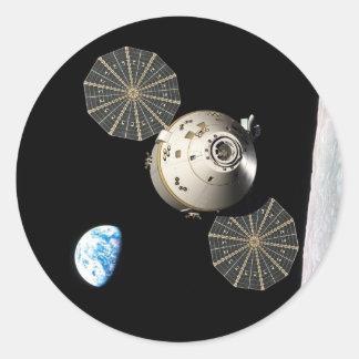 月軌道のNASAオリオン ラウンドシール