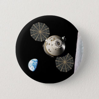月軌道のNASAオリオン 5.7CM 丸型バッジ