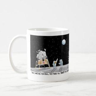 月面着陸のマグ コーヒーマグカップ