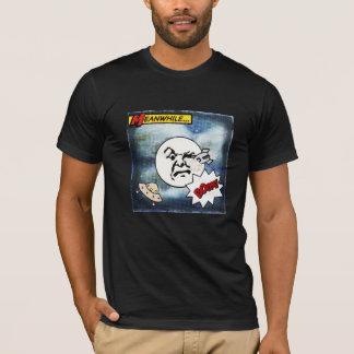 月面着陸の喜劇的なスタイルのTシャツ Tシャツ