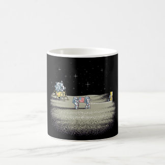 月面着陸色の変更のマグ モーフィングマグカップ