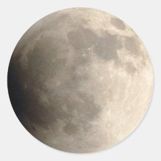 月食(4)の12:01 AM 2014の4月15日、パーティー ラウンドシール