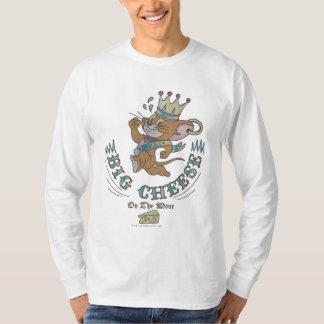 月2のジェリーの大きいチーズ Tシャツ