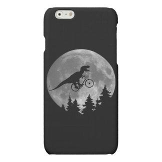 月80sのパロディが付いている空のバイクもしくは自転車に乗る人tのレックス マットiPhone 6ケース
