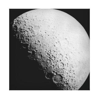 月|のキャンバスの芸術 キャンバスプリント