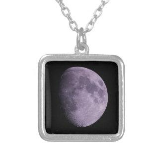 月-ネックレス シルバープレートネックレス