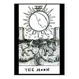 月 ポストカード
