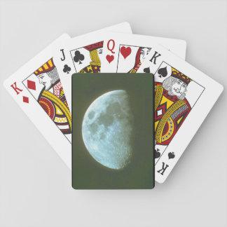 月。 (月; 陰; 空; night_Space場面 トランプ