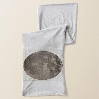 月(1961年)のヴィンテージの地図 スカーフ