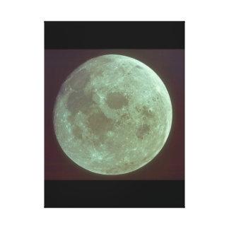 月。 (moon_Space キャンバスプリント