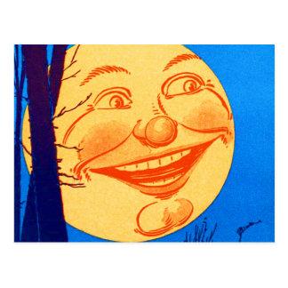 月W.W. Denslow Illustrationのヴィンテージの人 ポストカード