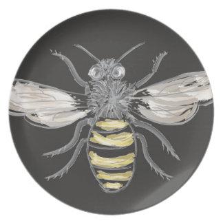 有利な《昆虫》マルハナバチ プレート