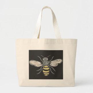 有利な《昆虫》マルハナバチ ラージトートバッグ
