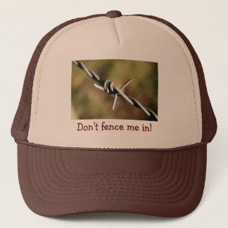 有刺鉄線のデザインの帽子 キャップ