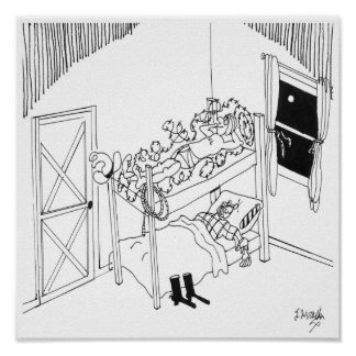 有刺鉄線の漫画5103 ポスター
