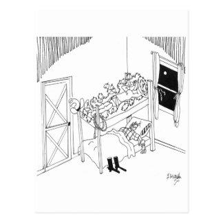 有刺鉄線の漫画5103 ポストカード