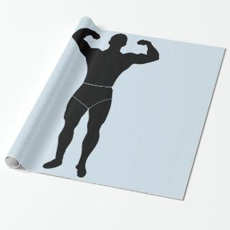 有力者の包装紙 ラッピングペーパー