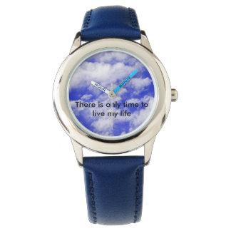 有効時間だけ私の生命腕時計あります 腕時計