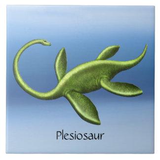 有史以前のエラスモサウルスのPlesiosaurのセラミックタイル タイル
