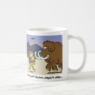 有史以前のヒップスターのコーヒー・マグ コーヒーマグカップ