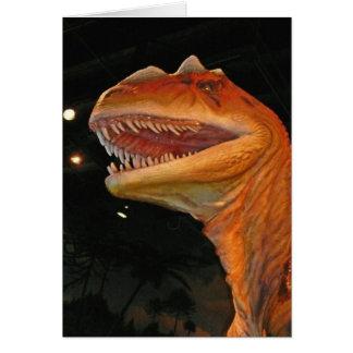 有史以前の恐竜のcollcetion カード