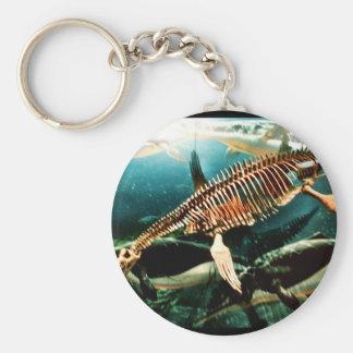 有史以前の水中海の創造物-ネス湖 キーホルダー