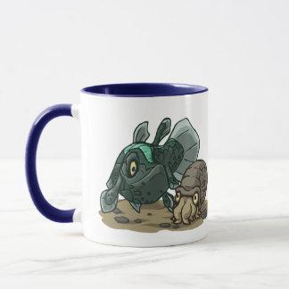 有史以前の海洋生物のマグ マグカップ