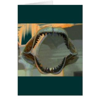 有史以前の顎のCB カード