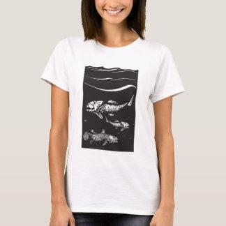 有史以前の魚 Tシャツ