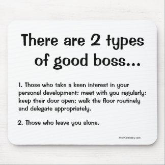 有名でおもしろいなボスの引用文の冗談2のボス マウスパッド