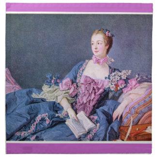 有名で17世紀な絵画の夕食ナプキン ナプキンクロス