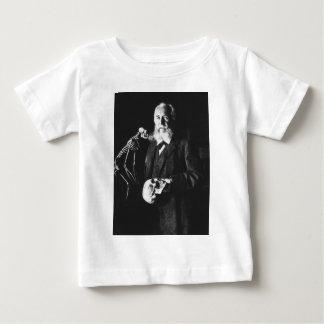 有名なドイツの生物学者のエルンスト・ヘッケルポートレート ベビーTシャツ