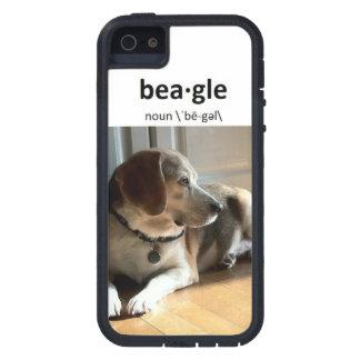 有名なビーグル犬: iPhone 5/5Sの場合(衝撃吸収) iPhone SE/5/5s ケース