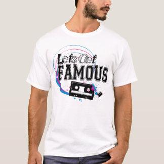 有名なロゴを得るために割り当てます Tシャツ