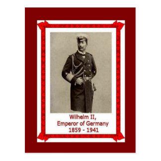 有名な人々、Kaiser Wilhelm II 1859-1941年 ポストカード