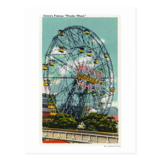 有名な驚異の観覧車の眺め ポストカード