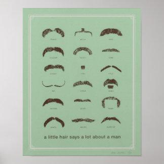 有名な髭 ポスター