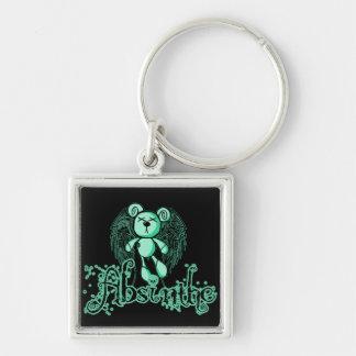 有害なテディ-アブサン緑の妖精 キーホルダー