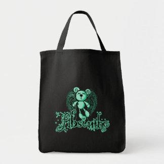 有害なテディ-アブサン緑の妖精 トートバッグ