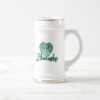 有害なテディ-アブサン緑の妖精 ビールジョッキ