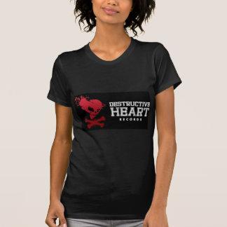 有害なハートのオリジナル Tシャツ