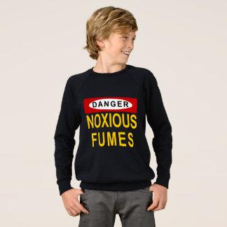 有害な発煙のワイシャツ スウェットシャツ