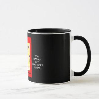"""""""有害な赤CAT"""" 11のoz。 信号器のコーヒー・マグ マグカップ"""