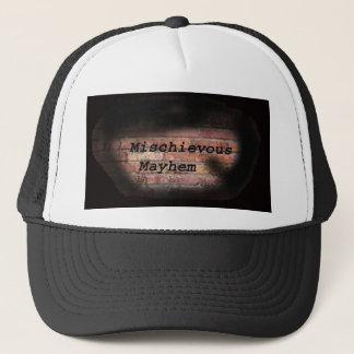 有害な身体傷害の帽子 キャップ